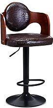 Solid Wood Bar Stool Lift Bar Chair Front Desk