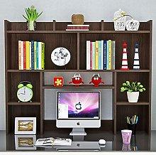 Solid Wood Bookshelf Children Desktop Computer
