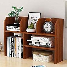 Solid Wood Bookshelf Simple Modern Office Desk
