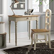 Solid Wood Desk Brambly Cottage