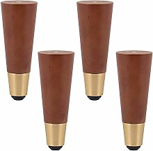 Solid Wood Furniture Legs,4 Pack Oblique/Straight
