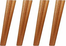 Solid Wood Furniture Legs, Conical Sofa Legs,