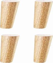 Solid Wood Furniture Legs Oblique Tapered Sofa