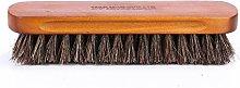 Solid Wood Horsehair Brush Soft Bristle Shoe Brush