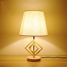 Solid Wood Lamp Bedroom Bedside Lamp Modern Desk