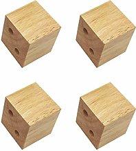 Solid Wood Oak Furniture Raised Legs,Replacement