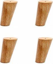 Solid Wood Oak Oblique Cone Furniture Legs,Sofa
