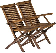 Solid Wooden Folding Outdoor Furniture Chairs -