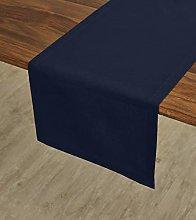 Solino Home Dru Cotton Linen Table Runner – 14 x