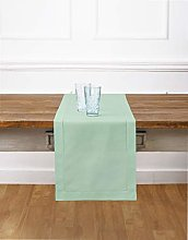 Solino Home Hemstitch Cotton Linen Table Runner