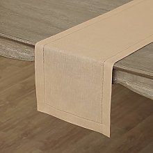 Solino Home Hemstitch Linen Table Runner - 14 x 72