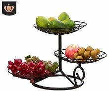Soloer 3 Tier Fruit Bowl Multi-Tier Fruit Basket