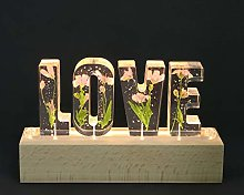 SOLUSTRE LED Lights Love Shaped Light Up Flower
