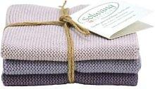 Solwang Design - Dusty Purple Trio Danish Cotton