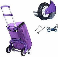 SONG Hand Trucks Shopping Cart Trolley Portable