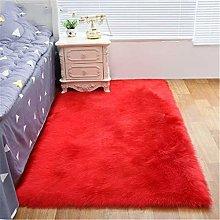 SONGHJ Anti-Slip Rectangular Plush Carpet, Can Be