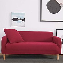 SONGHJ Solid Color Elastic Sofa Cover Spandex