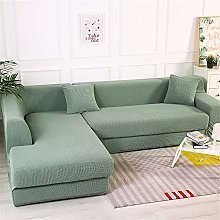 SONGHJ Solid Color Thick Sofa Cover All-Inclusive