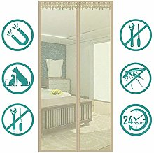 SONGHUI Magnetic Screen Door, Mosquito Door, with