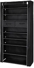 SONGMICS 10-Tier Shoe Rack for 40 Pairs of Shoes,