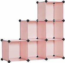 SONGMICS 6-Cube Storage Plastic Organiser,