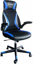 SONGMICS Office Mesh Swivel Chair with Armrests