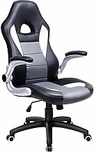 SONGMICS Racing Office Chair with 79 cm High Back