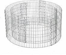 Songmics - Round Stone Gabion, Metal Gabion Cage
