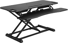 SONGMICS Standing Desk, Height Adjustable Stand Up
