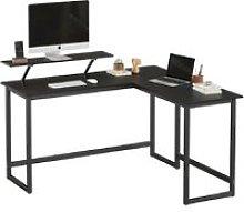 Songmics - VASAGLE Computer Desk, L-Shaped Writing