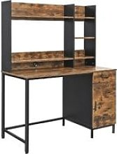 Songmics - VASAGLE Computer Desk with Shelf Unit,
