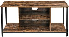 Songmics - VASAGLE TV Stand, Cabinet with Open