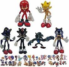 Sonic Second Generation Small Figure 6pcs/lot