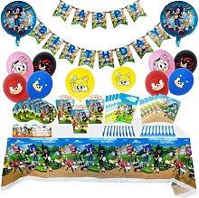 Sonic The Hedgehog Party Supplies Decoration Set