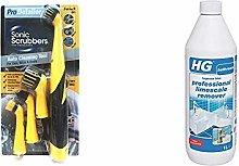 SonicScrubber Pro Detailer Cleaning Brush Kit for