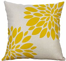 Sonojie Durable Linen Creative Love Pillow Cover