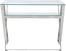 Sonoma Desk Canora Grey Colour (Frame): Silver