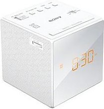 Sony Icf-C1 Clock Radio - White