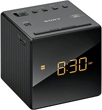 Sony ICF-C1B Cube FM/AM Clock Radio with Dual