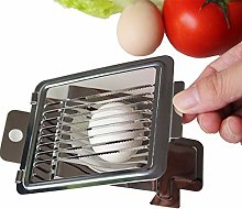 Sooiy 1 PIECE egg slicer stainless steel egg