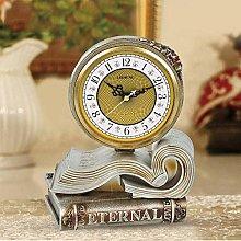 Sooiy 8-inch table clock, Book mantel clock,
