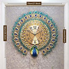 Sooiy Clock Crystal Clock European Mural, decor