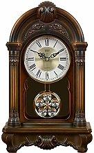 Sooiy Mantel Clock Table Mantle Desk Pendulum