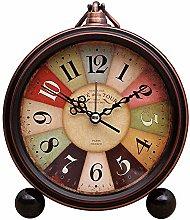 Sooiy Mantle/Desk Clock Living Room Creative Desk