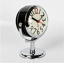 Sooiy Table clock desk clock for living room decor