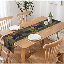 SOPARLLY Floral Table Runner,Soft Watercolor
