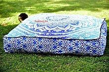 Sophia Art Indian Ombre Mandala Floor Pillow