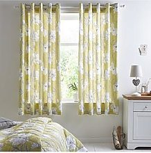 Sophia Lined Eyelet Curtains