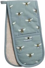 Sophie Allport - Bees Teal Double Oven Gloves