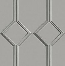 Sophie Laurence Luxury Geometric Trellis Azzurra